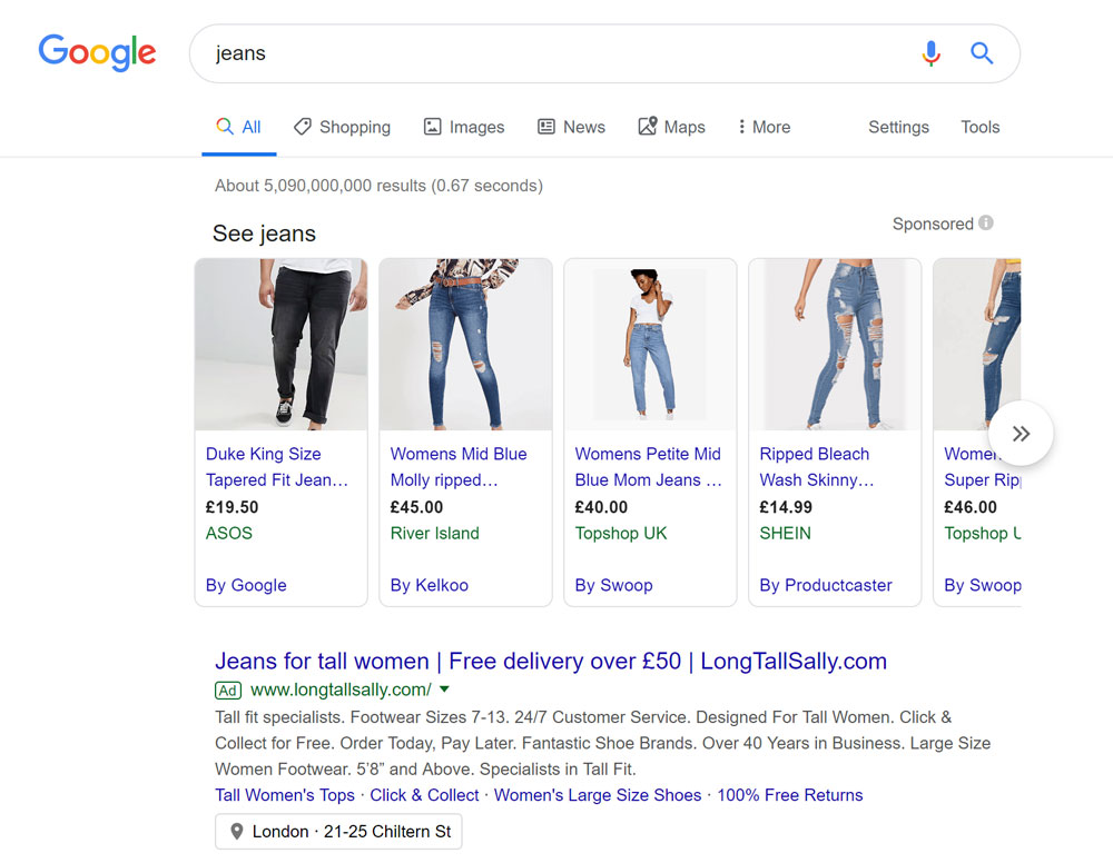 Part 1 - Google Shopping ads look different to Ads
