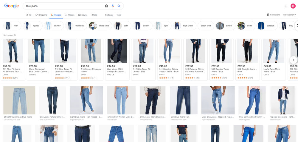 Part 1 - Image search Google Shopping Ads