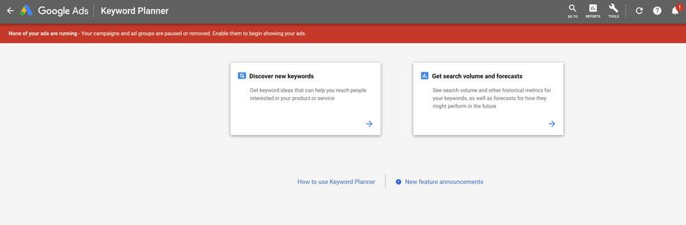 Part 6 - Google Keyword Planner 1